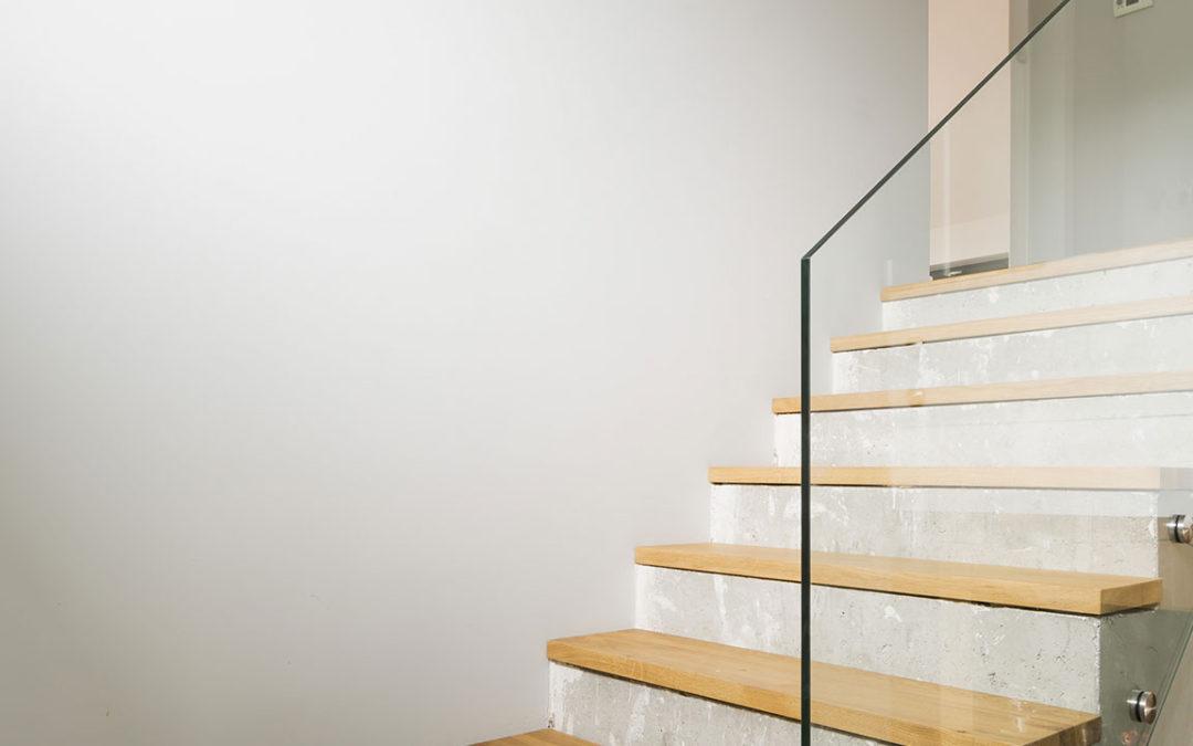 Le scale interne: leggerezza e utilità