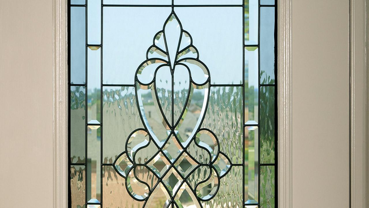 Box doccie in vetro tettoie in vetro vetrine specchi a lucca vetreria sav - Porte con vetro decorato ...