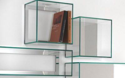 Idee per la casa | il vetro come arredamento